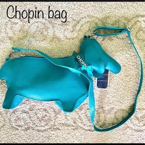 Chopin Dachshund dog bag purse